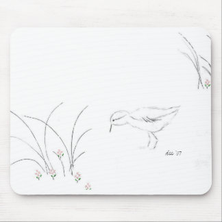 Dee's Sandpiper - Highcountryhiker Mouse Pad