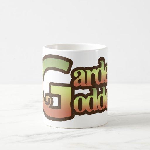 Déesse de jardin mugs à café
