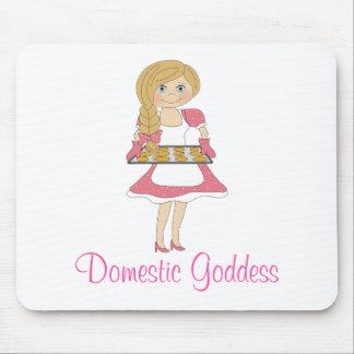 Déesse domestique (blonde) tapis de souris