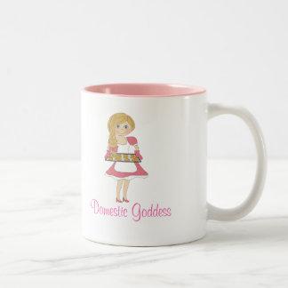 Déesse domestique blonde tasses