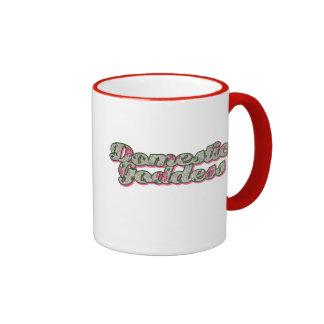 Déesse domestique mug ringer