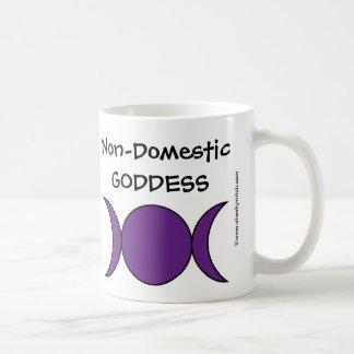 Déesse Non-Domestique - une tasse tasse effrontées