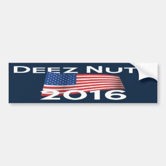 Deez Nuts 2016 Bumper Sticker