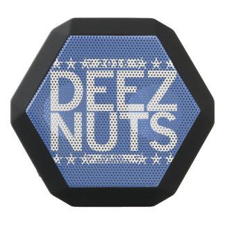 Deez nuts black bluetooth speaker