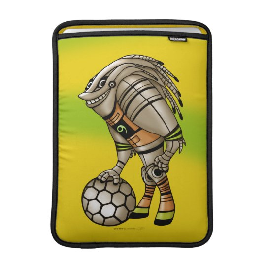 "DEEZER ALIEN MONSTER ROBOT  Macbook Air 13"" MacBook Air Sleeve"