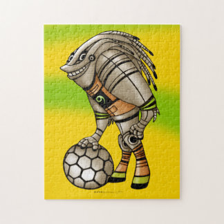 DEEZER ROBOT ALIEN PUZZLE MONSTER 11 X 14