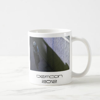 DEFCON 2012 COFFEE MUG - TYPE 1