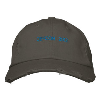 DEFCON 2012 EMBROIDERED HAT