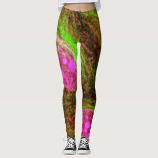 Defeat Cervical Cancer Leggings