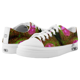 Defeat Cervical Cancer Low-Top Sneakers