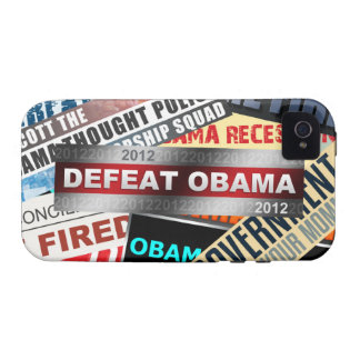 Defeat Obama 2012 Case-Mate iPhone 4 Cover