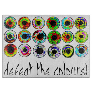 Defeat the colours. boards