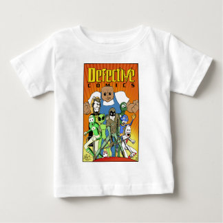 """Defective Comics """"King of the Hill"""" Design Baby T-Shirt"""