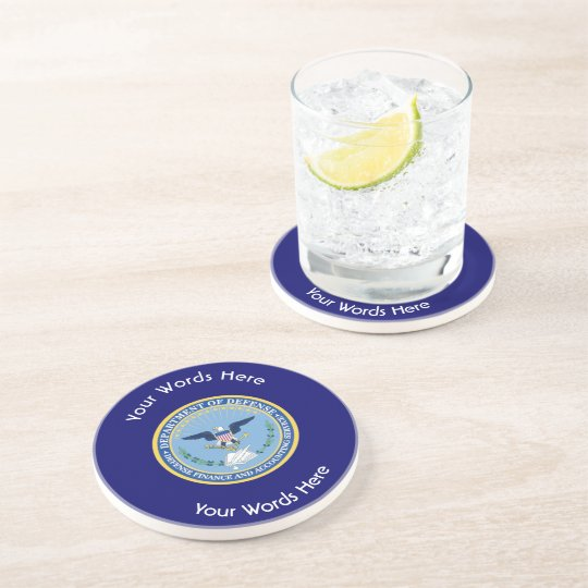 Defence Finance Accounting Services DFAS Coaster