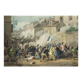 Defence of a Barricade, 29th July 1830 Poster