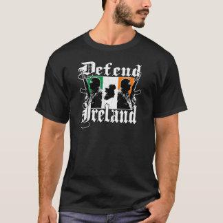Defend Ireland - Irish Pride (vintage distressed) T-Shirt
