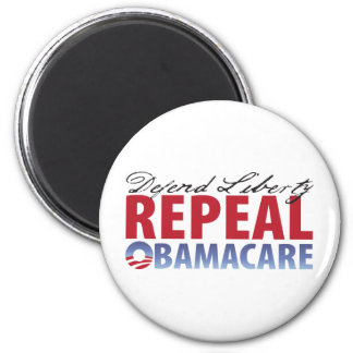 Defend Liberty Repeal Health Care 2 Inch Round Magnet