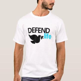 Defend Life White Tee