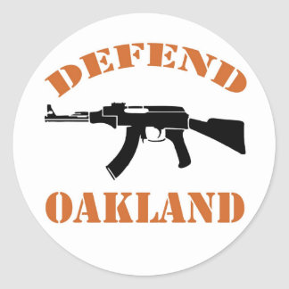 Defend Oakland Sticker