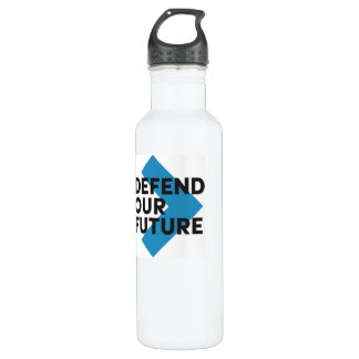 Defend Our Future Water Bottle