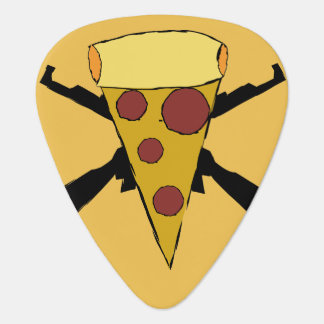 Defend Pop Punk Pizza Guitar Pick