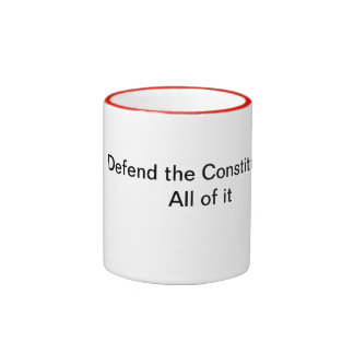 Defend the Constitution, all of it Mug