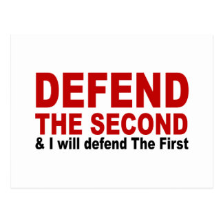 Defend The Second Postcard