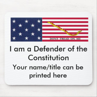 Defender of the Constitution mouse pad #2