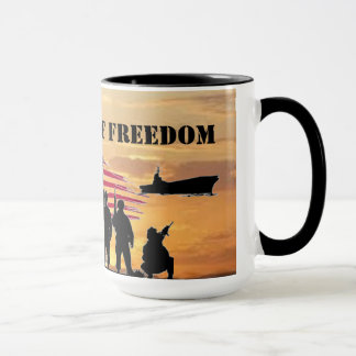 DEFENDERS OF FREEDOM MUG