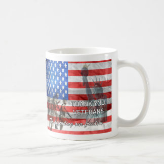 Defending Freedom Veterans Day Mug