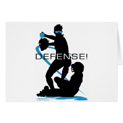 Defense2 Greeting Cards