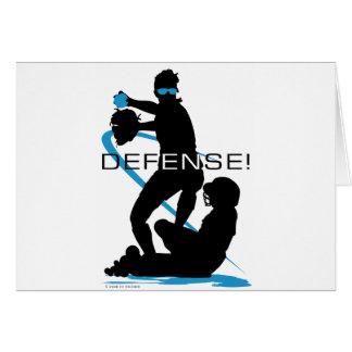 Defense2 Greeting Card