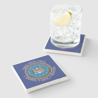 Defense Contract Management Agency DCMA VVV Stone Coaster