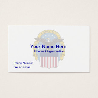 Defense Logistics Agency Business Card