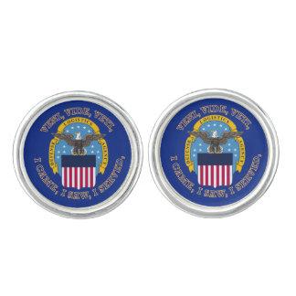 Defense Logistics Agency Shield Cufflinks