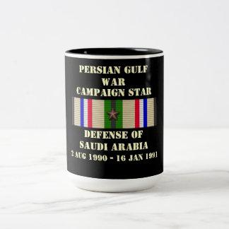 Defense of Saudi Arabia Campaign Two-Tone Coffee Mug