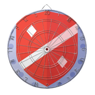 Defense Shield Dartboard
