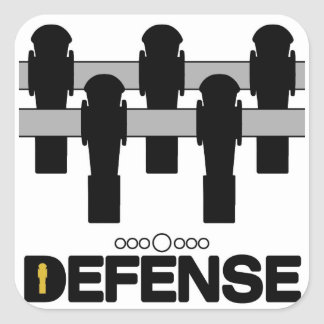 DEFENSE STICKER