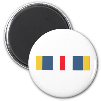 Defense Superior Service Ribbon Refrigerator Magnet