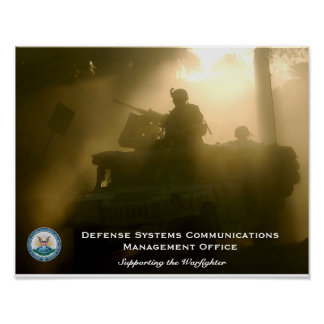Defense Systems Communications Management Office Poster