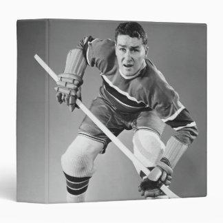 Défenseur d'hockey classeurs