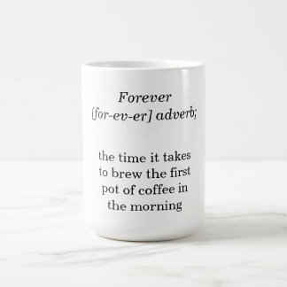 Deffinition of Forever Coffee Mug