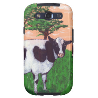 Defiant Dairy Cow Galaxy SIII Cases