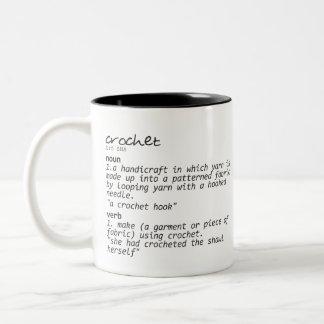 Define Crochet Mug