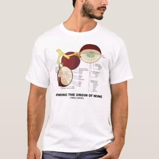 Defining The Origin Of Wine (Wine Grape Berry) T-Shirt