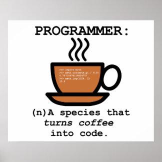 Definition of a Computer Programmer - Geek Poster