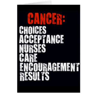 Definition of Cancer Card