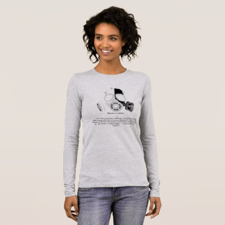 Definition of radiation long sleeve T-Shirt