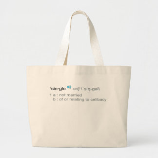 Definition of single canvas bags