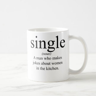 Definition of Single Coffee Mug